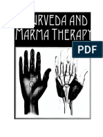 Ayurveda y Terapia Marma