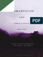 Romanticism and Speculative Realism