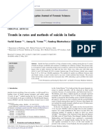 Trends in Rates and Methods of Suicide in India