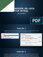 1-Manual de Conexion a La Base de Datos Con Java