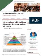 Consumismo x Pirâmide de Maslow – Uma outra visão da teoria _ Jovem Administrador.pdf