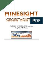 MineSight Geoestadadistica 2019