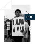 'I AM a MAN' - American Civil Rights Protests of the 1960's