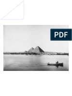 The Nile by the Giza Pyramids, Egypt, 1927
