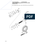 Rear Drive Axle%2c Ring and Pinion Gear Set