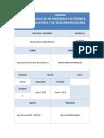 Imforme 4 (Previo) Amplificador Diferencial