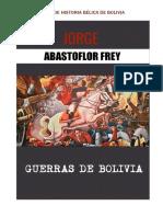 1. Guerras de Bolivia