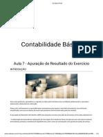 Aula 7 - Apuração de resultado do exercício.pdf