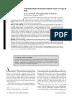 Long-termsurvivalofendodonticallytreatedmolarswithoutcrowncoverage-Aretrospectivecohortstudy.pdf