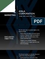 AYALA CORPORATION and Key Economic Indicators (ACADEMIC PURPOSES ONLY)