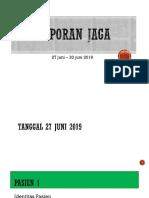 Lapjag 27-30 Juni 2019 New