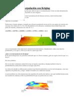 Metodos Geoestadadisticos Uso Kriging