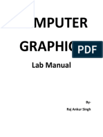 Computer Graphics Practical Manual