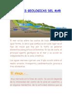 Acciones Geológicas Del Mar