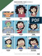 Fichas Verbos Ilustrados Profedeele en 1.1