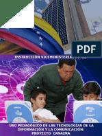 Instruccion 21 Proyecto Canaima
