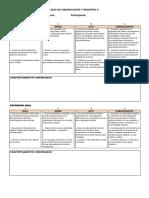 Guía de Observación y Registro 2