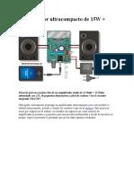 Amplificador de audio con TDA7297