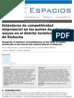 Estándares de Competitividad