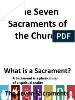 The Seven Sacraments of the Church