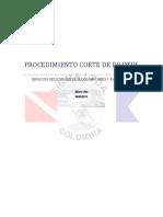 Procedimiento Corte de Pilotes
