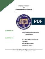 Shahryar's final Report on HBL.pdf
