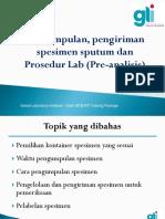4. SOP Sputum, Spesimen Dan Pre_analiisis Edted 200519