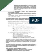 Normativa de contratos de trabajo