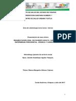 Caso Clinico Rehabilitación Oral en Paciente Adulta Que Presenta Enfermedad Periodontal Crónic