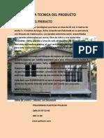 Ficha Tecnica Del Producto Ecomodulos Para Plataforma