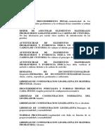 001. El Debido Proceso Probatorio. C-496-15