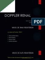 Doppler Renal