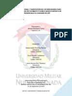 EVALUACION FUNCIONAL Y VERIFICACION DE INDICADORES PARA PAVIMENTOS FLEXIBLES