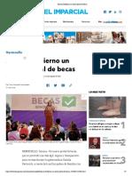 21-06-19 - EL IMPARCIAL - Abre El Gobierno Un Nuevo Portal de Becas