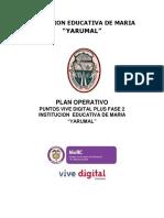 Plan Operativo y Ambiental PVD-EnSB