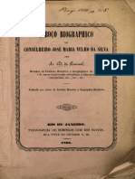 Esboço Biographico Do Conselheiro José Maria Velho Da Silva