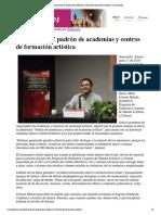 13-06-19 - CANAL SONORA - Promueve ISC padrón de academias y centros de formación artística _ Canal Sonora