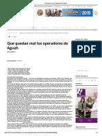 21-06-19 - TERMOMETRO EN LINEA - Crean Portal Para Transparentar Las Becas