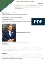 Sugestões Para Uma Boa Reforma Tributária - Harada Advogados