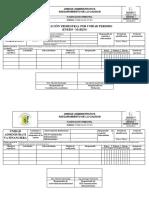 Formato de Planificacion Trimestral