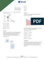 LISTA 1 STOODI - FÍSICA - Aplicações Das Leis de Newton