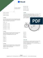 Lista 1 Stoodi - Física - Movimento Circular