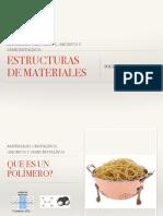 3b 2017 Estructuras Cristalinas, Amorfa y Semicristalinas