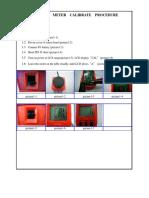 Calibration for light meter
