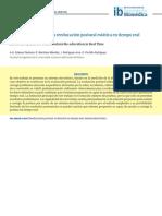 Sistema Electrónico Para Reeducación Postural Estática en Tiempo Real