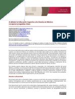 A Debate La Educaciónn Superior y La Ciencia en México