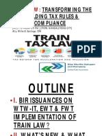 TRAIN LAW