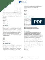 LISTA 4 STOODI - FÍSICA - Aplicações Das Leis de Newton
