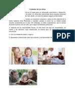 Cuidados de los niños.docx