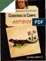 [Cuadernos de campo 42] Félix Rodríguez de la Fuente - Anfibios (1978, Editorial Marín S.A.).pdf